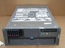 HP Proliant DL585 G2 Server Quad 2.6GHz AMD Opteron 8218 CPUs 8GB 6x72GB 64-Bit