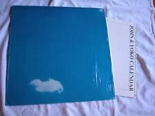 John Lennon Plastic Ono Live Peace original w wire calendar unplayed mint shrink