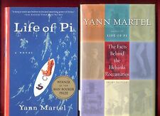 2 Yann Martel books: Life of Pi + Facts Behind the Helsinki Roccamatios