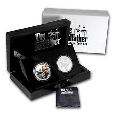 2015 Niue $2 Silver The Godfather 2-Coin Proof Set - SKU #95243
