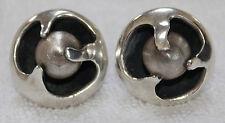 Sigi Pineda Sterling Silver Globe Earrings