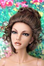 wigs/perruque Monique chignon   8/9 poupée/doll  pour  BJD SD pullip blithe