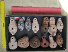 13 Ancient Oil Lamps
