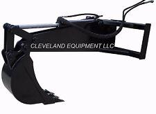 "NEW HD BACKHOE ATTACHMENT w/ 12"" BUCKET Excavator Skid Steer Loader Cat Case JCB"