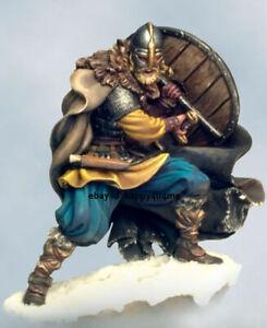 54mm Viking Warrior Chief Figure Model Kits Unpainted Garage Kits Unassembled GK