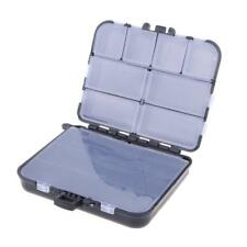 Waterproof Fishing Lure Bait Tackle Storage Box Case With 26 Compartments Black