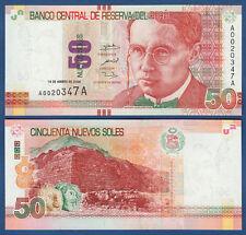 PERU 50 Nuevos Soles 2009  UNC  P.184