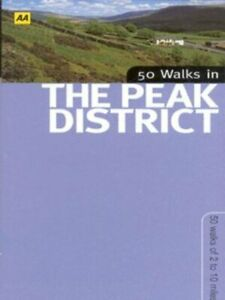 50 walks in the Peak District by John Morrison (Paperback) Fast and FREE P & P