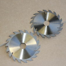 2 x 165MM TCT CIRCULAR SAW BLADES 165 x 30 18T