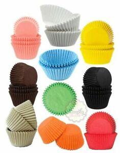 Culpitt Plain Colour Cupcake Cases Quality Grease proof Bun Muffin Baking Cake