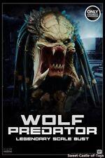 1/2 Sideshow AVP-R Alien Predator Requiem Wolf Predator Legendary Bust 2002502