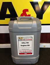 A&Y 15W40 Engine Oil, 25 litres