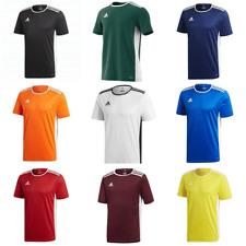 Camiseta De Fútbol Adidas entrada Chicos Niños Junior Entrenamiento Jersey Deportes Camiseta Top