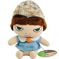 New! Yoshitomo Nara Plush Doll Stuffed Girl Onnanoko Japan Limited F/S Rare