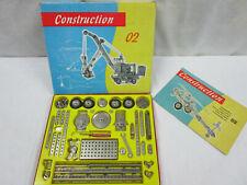 DDR Metallbaukasten - Construction 02 - Komplett - 60er Jahre