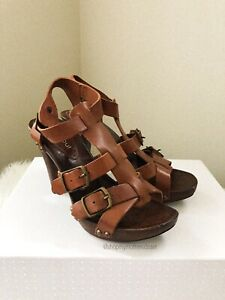 Urban Soul Women's Leather Heels - Size 8/39 MADE IN ITALY 🇮🇹
