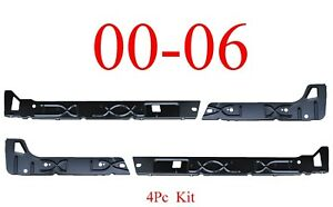 00 06 Chevy SUV 4Pc Inner Rocker Panel L&R, GMC Tahoe Yukon Suburban Avalanche