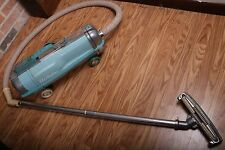 Vintage Turquoise Blue Electrolux Canister Vacuum Cleaner Works
