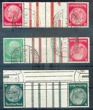 DR 1933 KZ17-19 WAFFELN gest 250€ (L2486