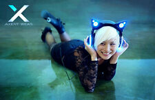 Brookstone Cat Ear Headphones Wireless Bluetooth AXENT WEAR | Auscultadores Gato