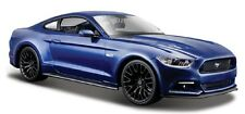 Maisto 1:24 2015 Ford Mustang GT 5.0 Blue Diecast Model Racing Car Vehicle Toy
