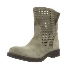 Buffalo London Womens 8106 Suggero Ankle Boots Grey (Milan 01) 5 UK