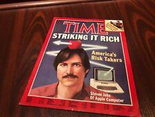 TIME MAGAZINE STEVE JOBS APPLE FEBRUARY 15 1982  (No Label)