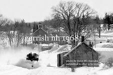 "Boston & Maine RR Jordan Spreader  Gerrish NH Jan 1968  4x6"" photo"