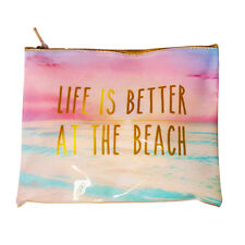 Women Makeup Travel Cosmetic Bag Pouch Toiletry Organizer Case Storage Beach Bag