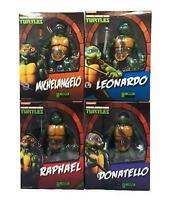 Teenage Mutant Ninja Turtles Set of 4 Figures Playmates S.H Figuarts Bandai 19