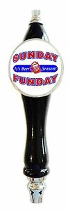 Beer Tap Handle tapper Sunday Funday Football nfl Kegerator or Faucet