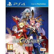 Fate extella el umbral Star PS4 Juego-a Estrenar!