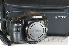 Sony Alpha SLT-A57 16.1MP Digital SLR Camera (Body Only) w/ Sony Bag - Black