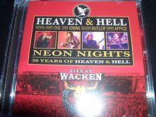 Heaven & Hell Neon Nights 30 Years Live At Wacko (Shock Australia) CD