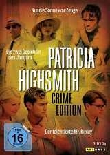 Patricia Highsmith Crime Edition - Der talentierte Mr. Ripley u.a. - 3 DVD Box