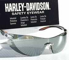 NEW* Harley-Davidson HD802 Mirrored Lens Silver Frame Sunglasses & Safety