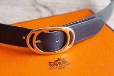 Vintage Genuine Mens Hermes belt