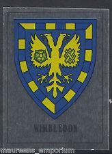 Panini Football 1990 Sticker - No 290 - Wimbledon Foil Badge