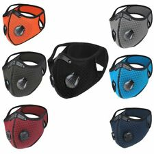 Cycling Protective Mouth-muffle Face Shield Haze Fog Mouth Cover With Filter &
