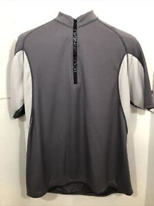 Louis Garneau Cycling Bike Touring Shirt with Back Water Pockets Large