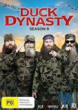 DUCK DYNASTY - SEASON 9   DVD - PAL Region free - sealed