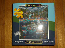 DOWDLE LAKE TAHOE 1,000 PIECE JIGSAW PUZZLE - NEW IN BOX