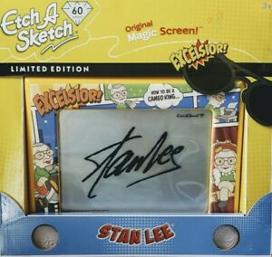Etch A Sketch Stan Lee 60th Anniversary Limited Edition Excelsior NIB In Hand