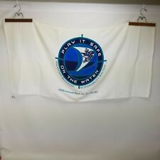 "Anheuser-Busch Beach Towel ""Play it Safe on the Water"" 100% Cotton Promotional"