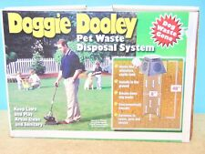 Doggie Dooley Dog Waste Gone In Ground Septic Tank Pet Waste Disposal System New