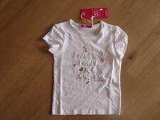 BNWT Girls Designer CAKEWALK White applique design T-Shirt age 2-years-FAB