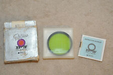 B+W Proline Filter 58mm ES 060 (11) Yellow Green 2X , Made in Germany