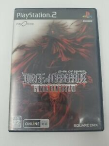 Final Fantasy 7 Dirge of Cerberus Playstation 2 Japanese Import VII PS2 JP Japan