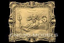 3d Model Stl For Cnc Router Engraver Carving Artcam Aspire Wizard Old Man N435