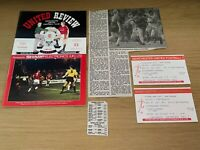 Manchester United v Portsmouth League Cup Football Programme - 30/10/1991